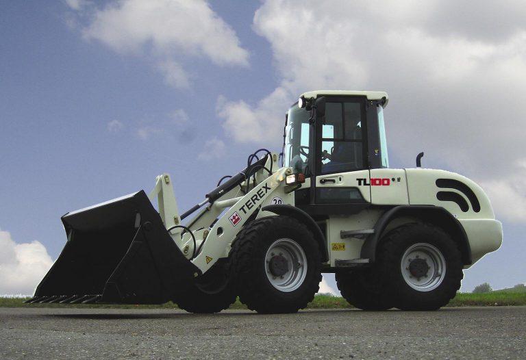 nieuwe shovel Terex TL100