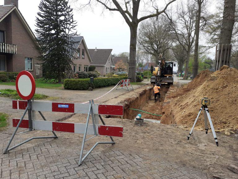 Vervanging riolering Witteveen